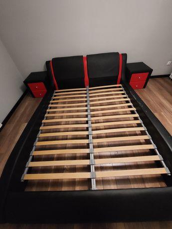 Łóżko tapicerowane stelaż 160x200