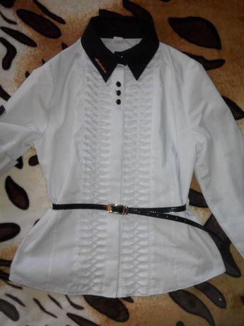Рубашка блузка 152 рост 9-10-11 лет
