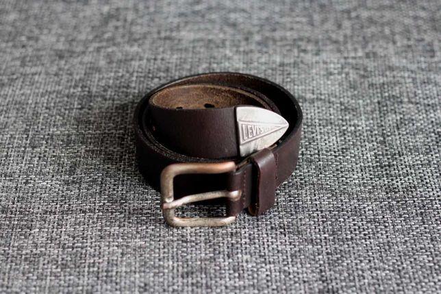 Ремень шкіряний LEVIS вінтаж Оригінал Італія W29-33