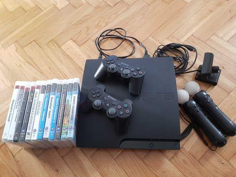 PlayStation 3 Slim 320GB CECH-3004B - jak nowy!