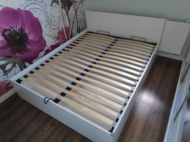 Łóżko z pojemnikiem, podnoszony stelaż 160x200