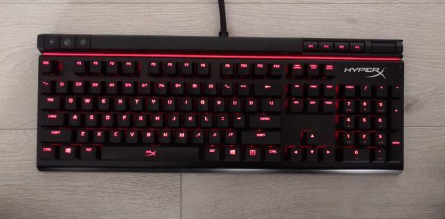 Klawiatura Mechaniczna HyperX Cherry MX Brown Gamingowa - jak nowa