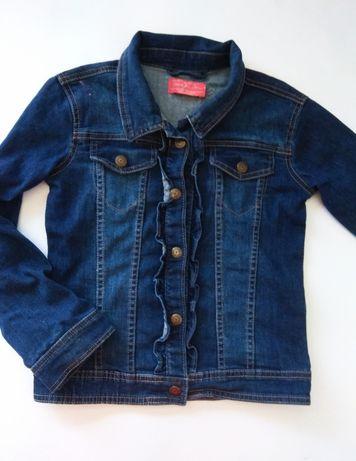 Kurtka jeansowa 128