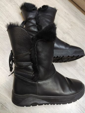 Зимние ботинки угги цигейка 38р.