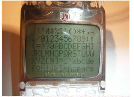 nokia 5110 3310 arduino lcd