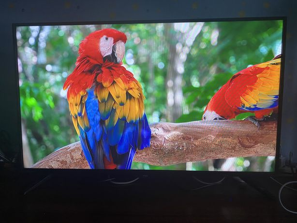 "Телевизор ergo 43"" full HD, Смарт, гарантия 8 месяцев"