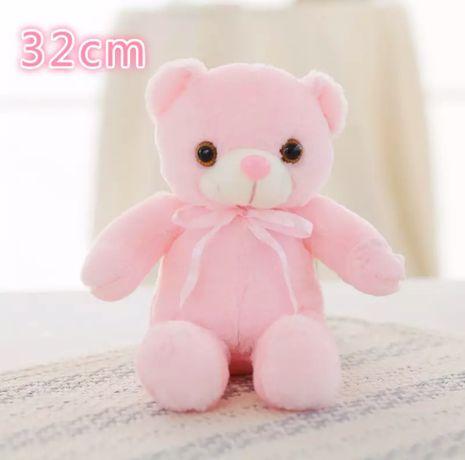 Светящийся медведь, плюшевый мишка, Led медведь, 32-50см