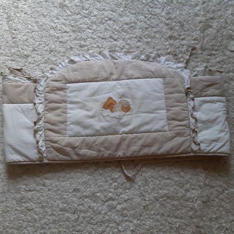 Ochraniacz na szczebelki na łóżeczko