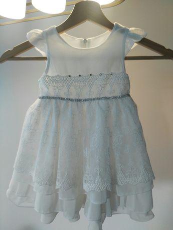 Sukienka chrzest, wesele, roczek