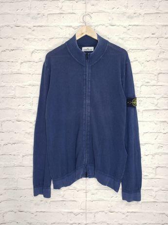 Кофта зип свитер лонгслив Stone Island Garment Dyed Nike