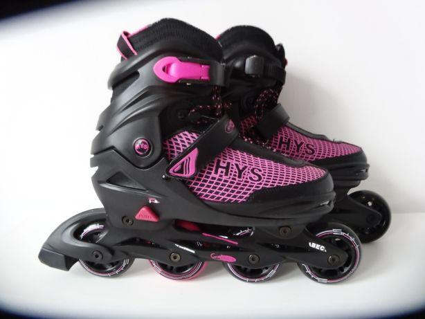 Rolki Hy Skate regulowane NOWE 37, 38, 39, 40 wkładka+torba+ochraniacz
