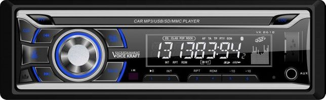 Radioodtwarzacz samochodowy Voice Kraft 8618 Bluetooth USB