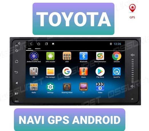Radio GPS NAVI Android Toyota Rav 4 CAMRY HIACE Previa Celicia Corolla