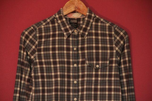 Tommy Hilfiger рр S-M рубашка из хлопка оригинал