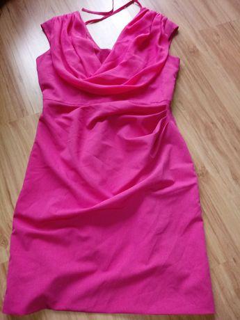 Sukienka rozowa rozm.42/44 tanio