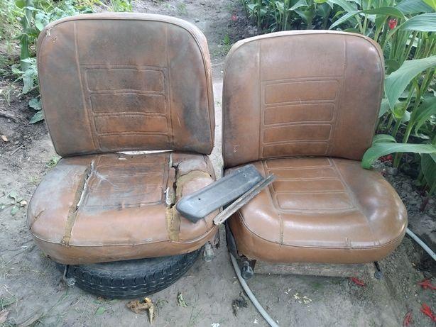 Продам сидения б/у от транспортного средства ВАЗ 2101