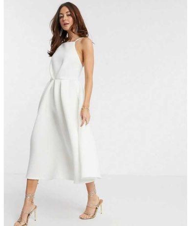 Biała sukienka 38