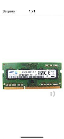 Оперативная память Samsung DDR3 SODIMM 4Gb 1600MHz (M471B5173QH0-YK0)