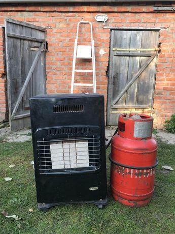 Газовий обігрівач вентилятор pyramida
