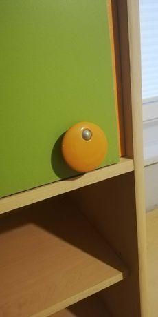 Meble dziecięce młodzieżowe biuro łóżko komoda zielone szafka