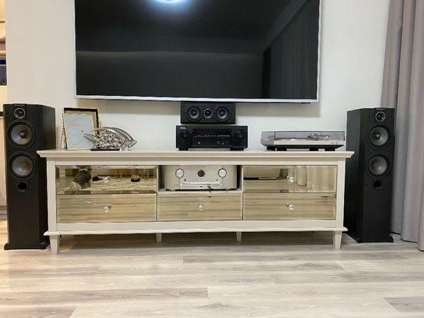 Amplituner Denon AVR-X1100W,Spotify, kino domowe, kolumny VARDUS VR300