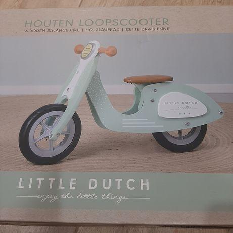 Новый, голландский,  деревянный самокат  Little Dutch,  беговел
