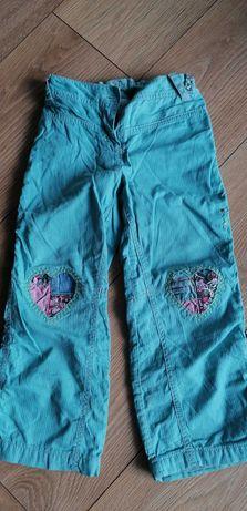 Next spodnie ocieplane roz 3-4 LAT j. Nowe  104-110