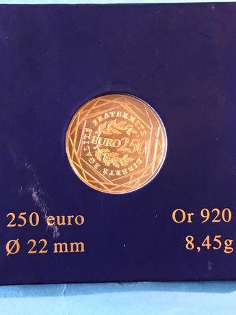 Vendo moeda Francesa em ouro de 250€