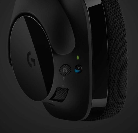 Наушники беспроводные Logitech G533 Wireless на гарантии