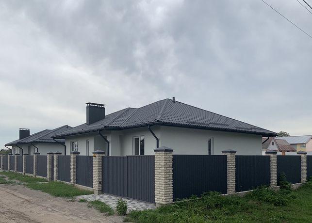 Продам новый кирпичный дом с отделкой в Борисполе, ул.Кооперативная 16