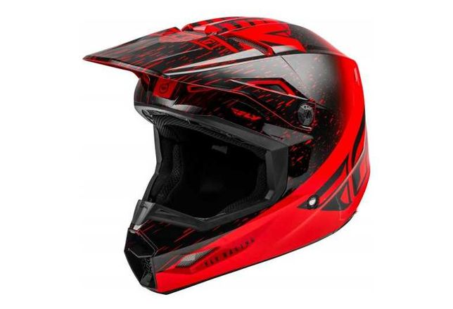 Capacete Integral (Downhill/Freeride) Fly Racing Kinetic K120 XL NOVO