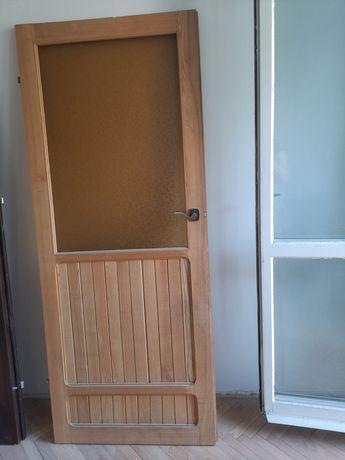 Drzwi drewniane r. 80 i 70 i 60cm
