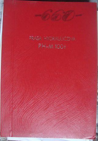 Паспорт на пресс гидравлический для пластмасс мод. PH-M 100t