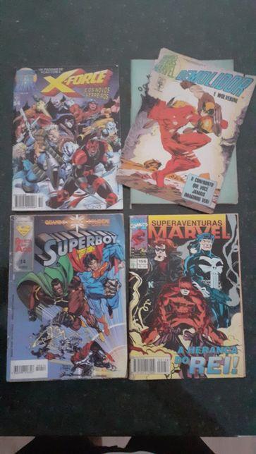 4 livros da Marvel (portes incluídos)