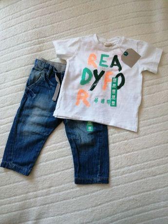 Zara Boy rozmiar 74 nowy tshirt tanio okazja
