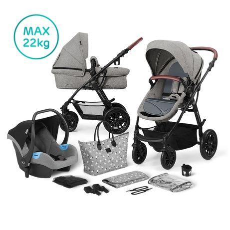 Nowy wózek wielofunkcyjny kolekcja 2020r,Xmoov Travel 3w1 Kinderkraft