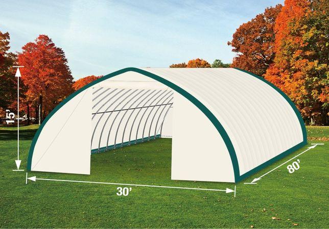 Ангар, склад, палатка, тунельный ангар TMG Industrial 9,1х25,9х 4,5