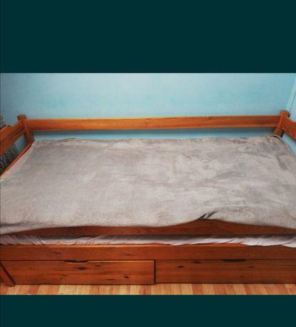 Łóżko piętrowe niskie