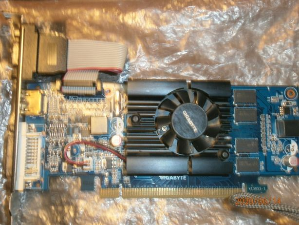 Видеокарта GIGABYTE GeForce GT 210 1GB DDR3 (GV-N210D3-1GI)