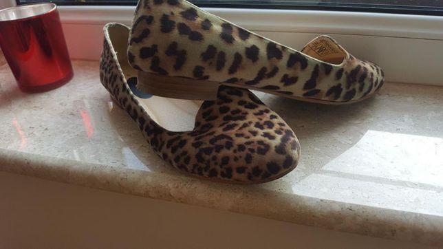 Balerinki Pantofle panterka