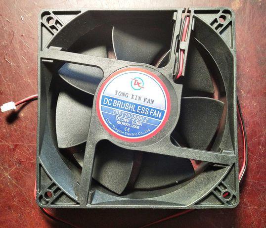 Вентилятор 120мм  24в.
