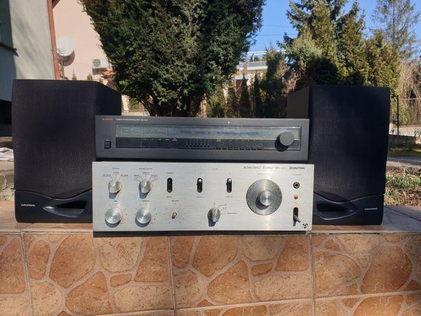 Wzmacniacz Unitra WS 303 + tuner stereo Diora AS 642 + głośniki Gratis