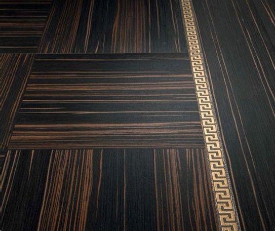 Versace płytki gresowe Villa Intarsio Ebano Nero Rosso 58.5x58.5