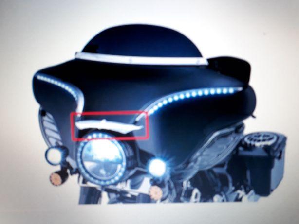 Harley electra czasz ozdoba,wykończenie