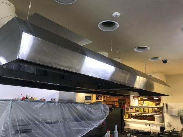 Чистка вентиляции ,Чистка кухоных зонтов
