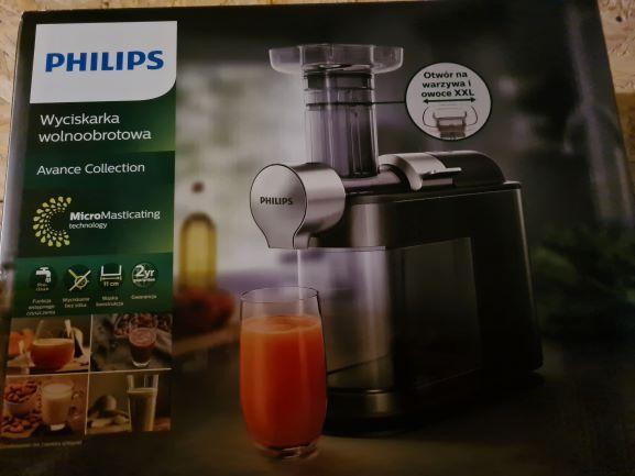 Wyciskarka Wolnoobrotowa Philips Avance HR1946/70 GWARANCJA