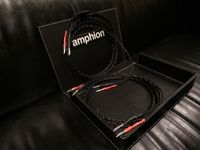 Amphion kable głośnikowe 2x2,5m banan pełna oferta Trans Audio Hi-Fi