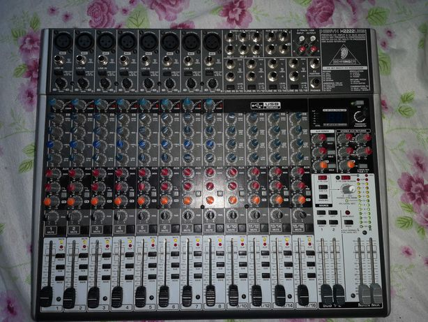 Мікшерний пульт BEHRINGER XENYX X2222 USB
