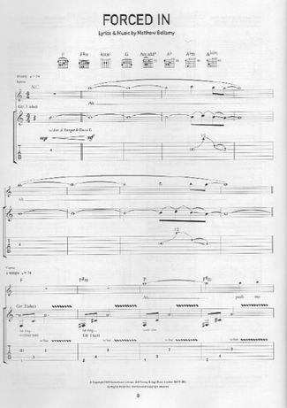muse ноты Beatles Radiohead The Rolling Stones Megadeth A-ha