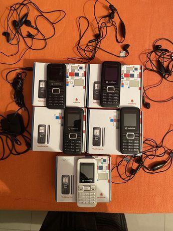 Telemoveis Vodafone 246 - 5 unidades